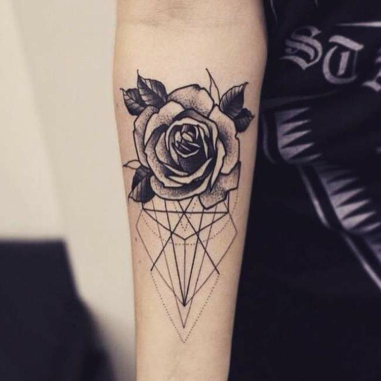 Rose tatouages