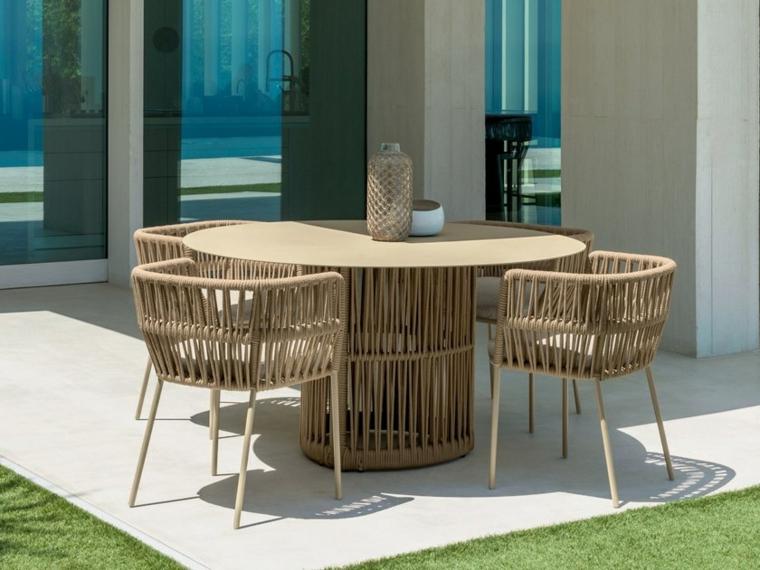 Conception de jardin 2019-style-table-à-manger