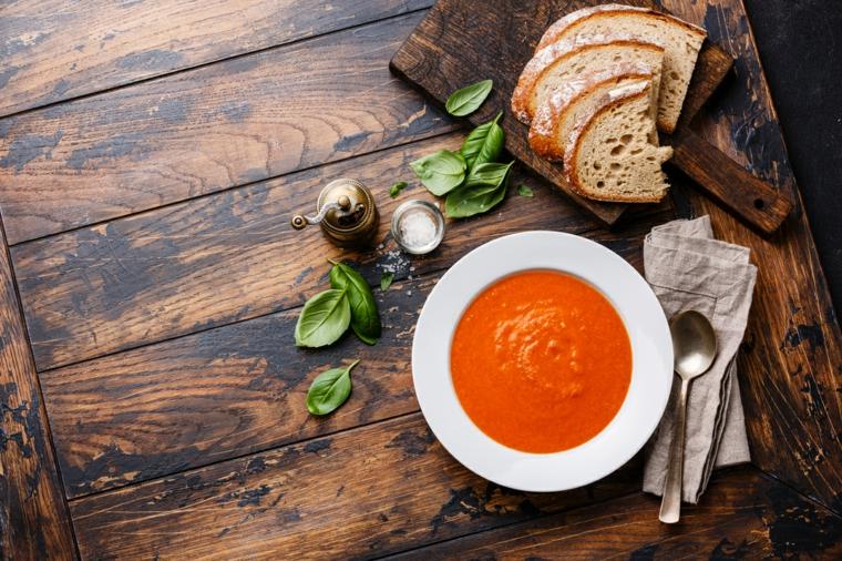 Recette facile de gaspacho-fait maison