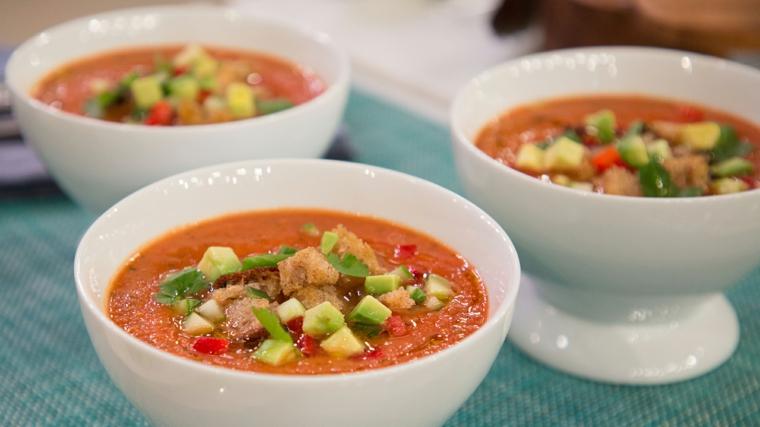 Recette de gazpacho facile à préparer