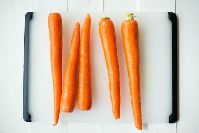 gâteau aux carottes-recettes saines