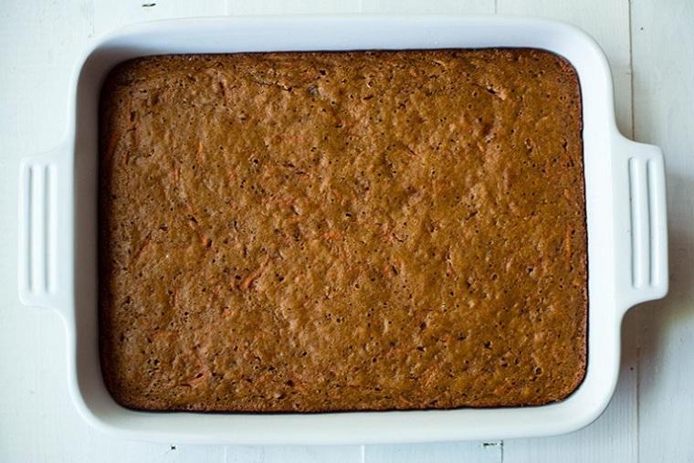 gâteau aux carottes-recettes-santé-pâte-cuit au four
