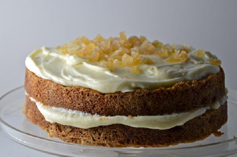 gâteau aux carottes-mascarpone-genjibre