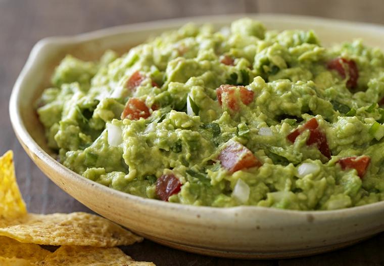 plat de guacamole