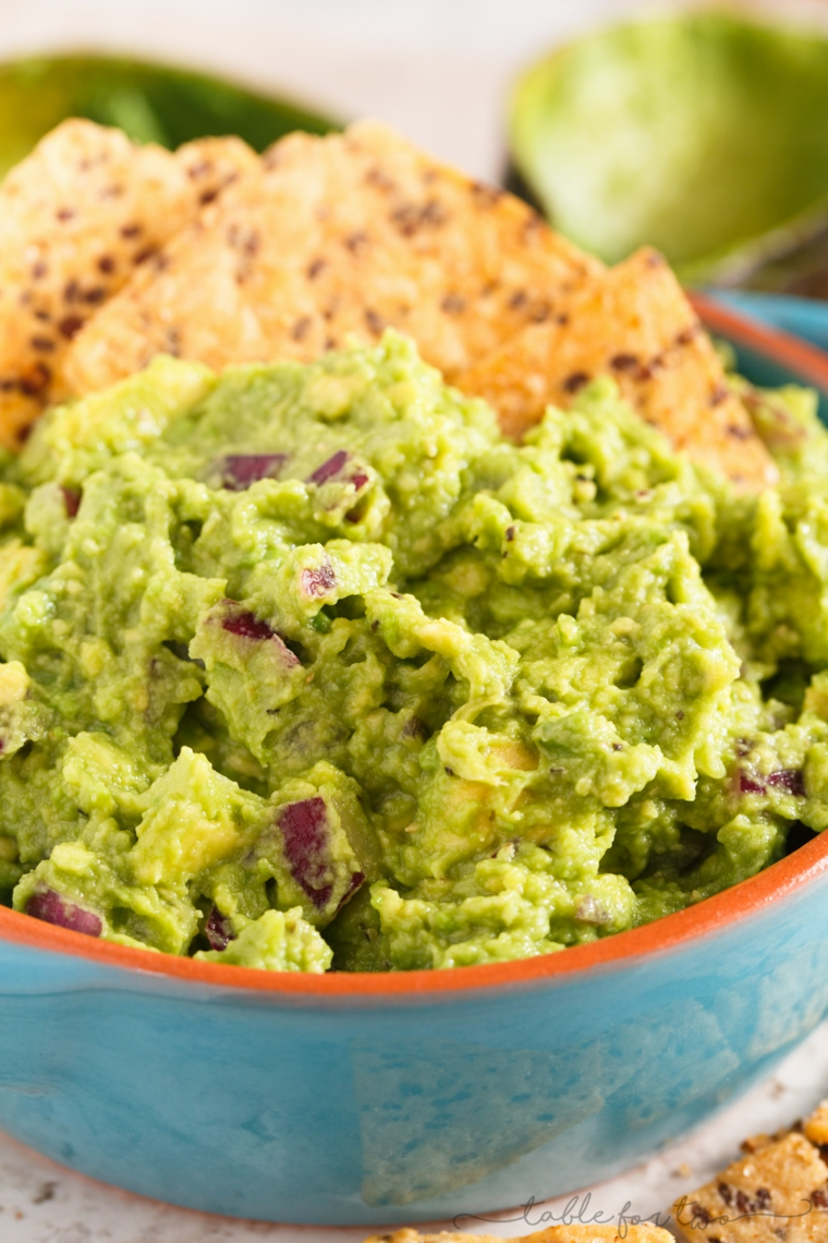 rendre le guacamole facile