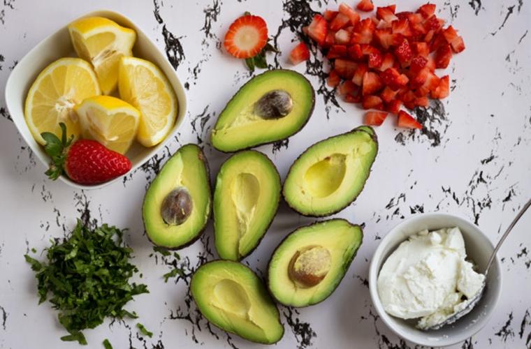 ingrédients faciles de guacamole