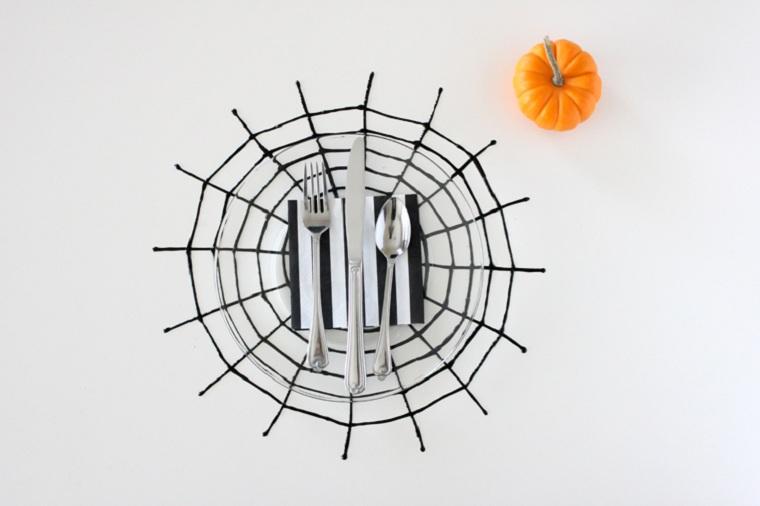 halloween-2018-telarana-décorer-table