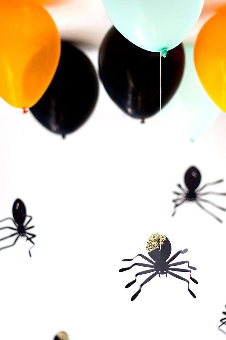 Halloween araignées décoratives