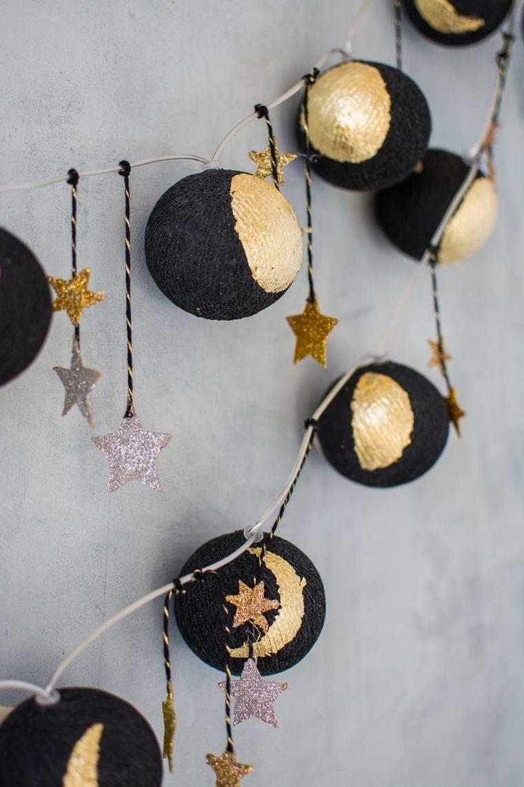 effets étoiles dorés décoratifs