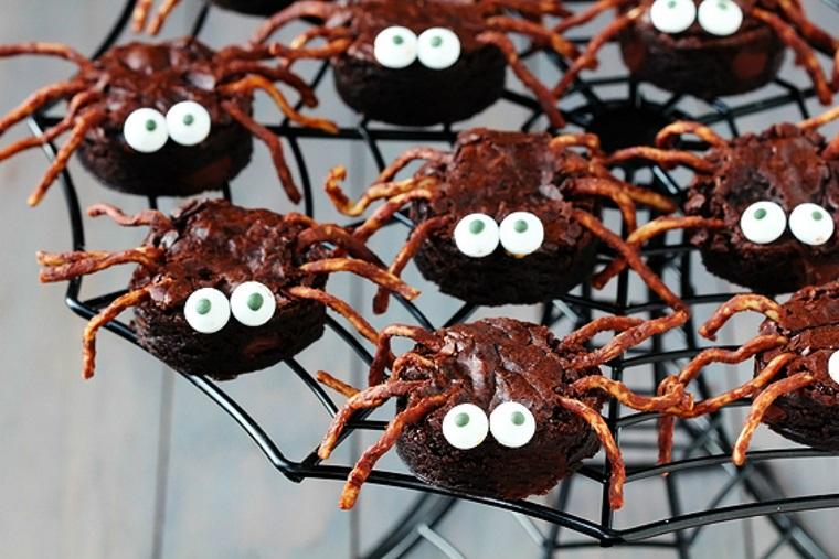 fête-de-Halloween-bonbons-araignées-bonbons