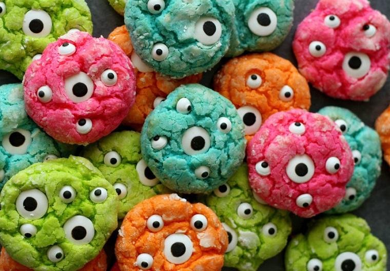 Halloween-Party-Monster Cookies