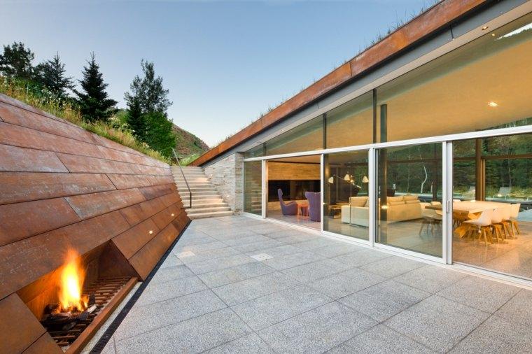 maison-cheminée-acier-options-design