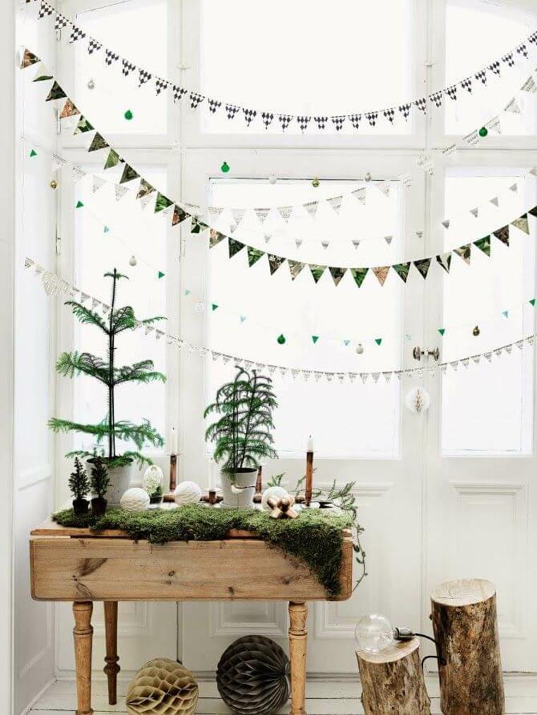 décoration-mur-fenêtre-guirlandes-idées