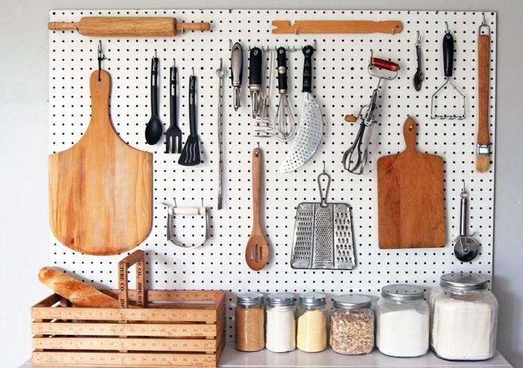 accessoires de cuisine ideas-table-pegs-options-original