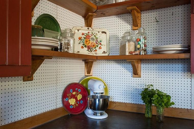 accessoires de cuisine ideas-table-chevilles-cuisine-classique