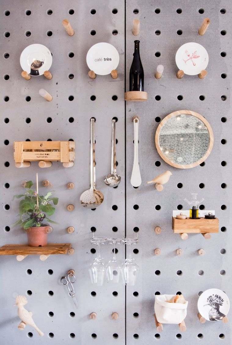 cuisine-accessoires-idées-table-chevilles-style