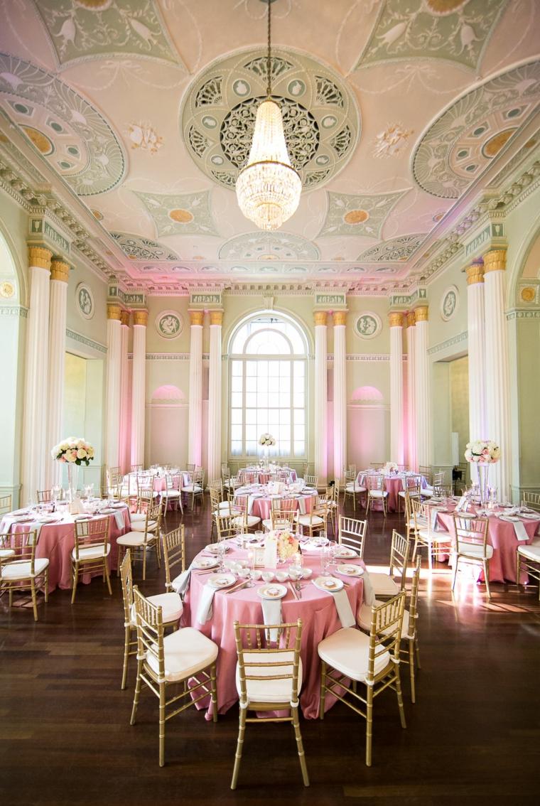décoration-mariage-couleur-corail