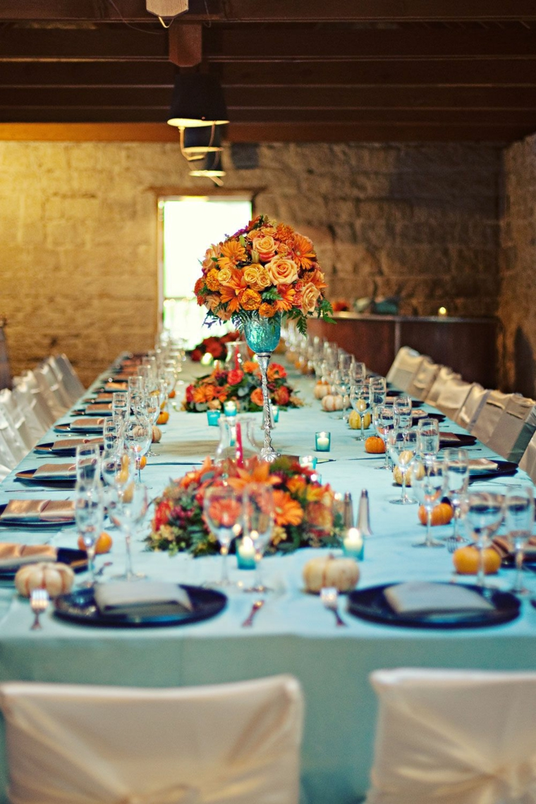 idées de mariage 2019 decoration-couleur-style turquoise