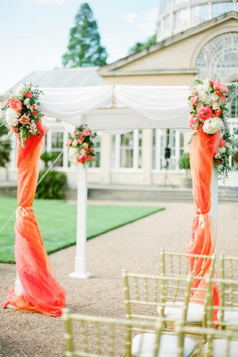idées-para-bodas-2019-estilo-tendencias-arca-color-naranja