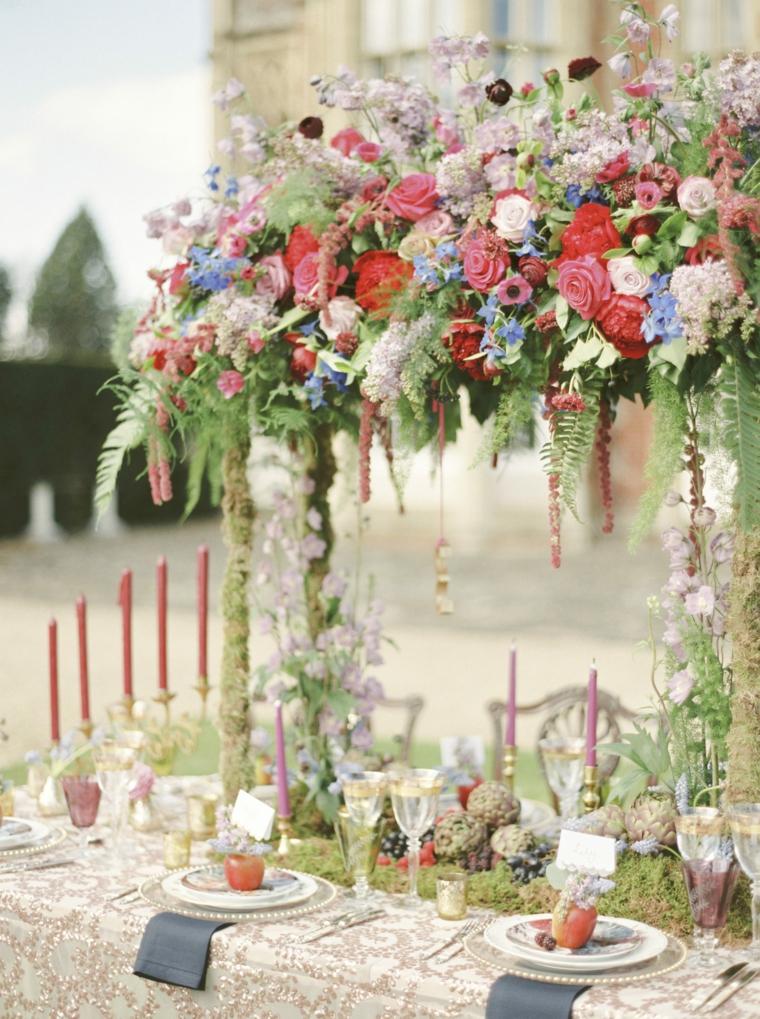 idées-pour-mariages-2019-style-tendances-centre-table-hautes-idees