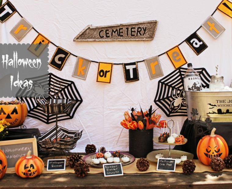 arrangements pour halloween-decorate-entry