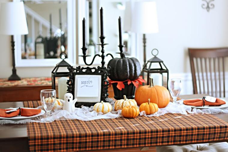 Halloween idées décorer citrouilles