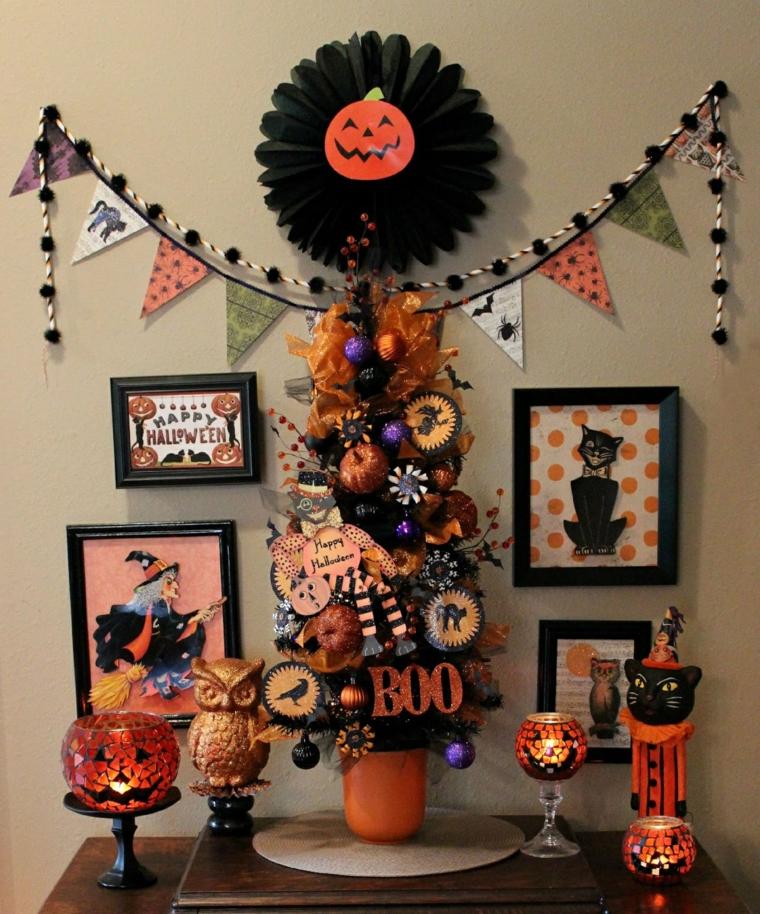 arrangements pour halloween-decorate-hall