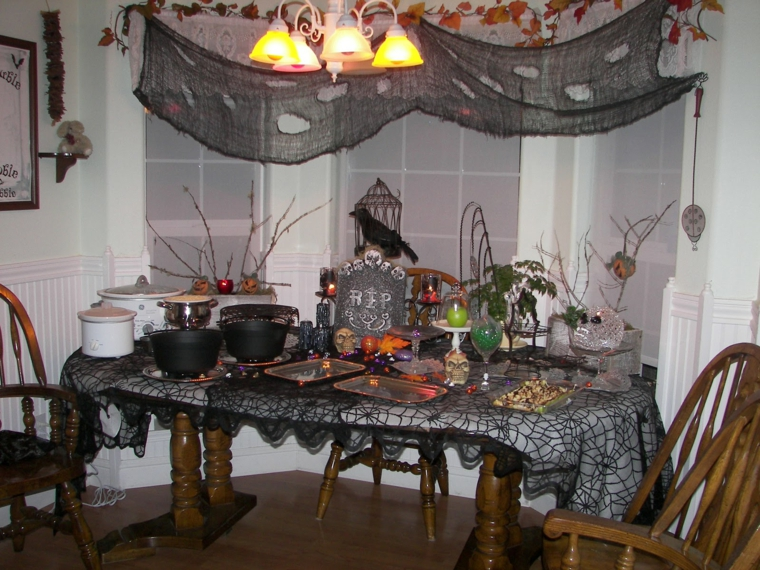 décoration pour halloween-impress