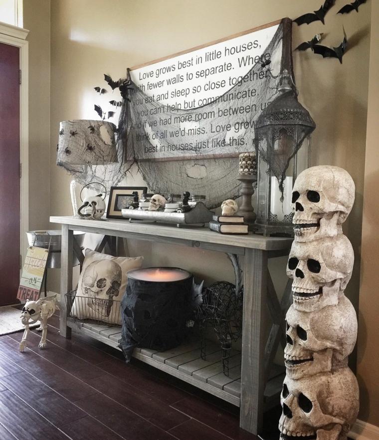 fantômes dhalloween-décorer-crânes