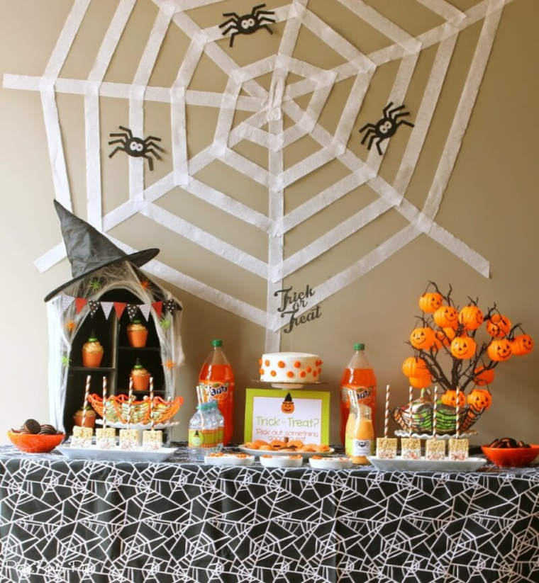 chiffres halloween-décorer-maison