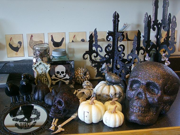 halloween idées-décoration-meubles