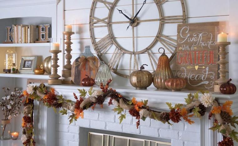 idées pour décorer une cheminée