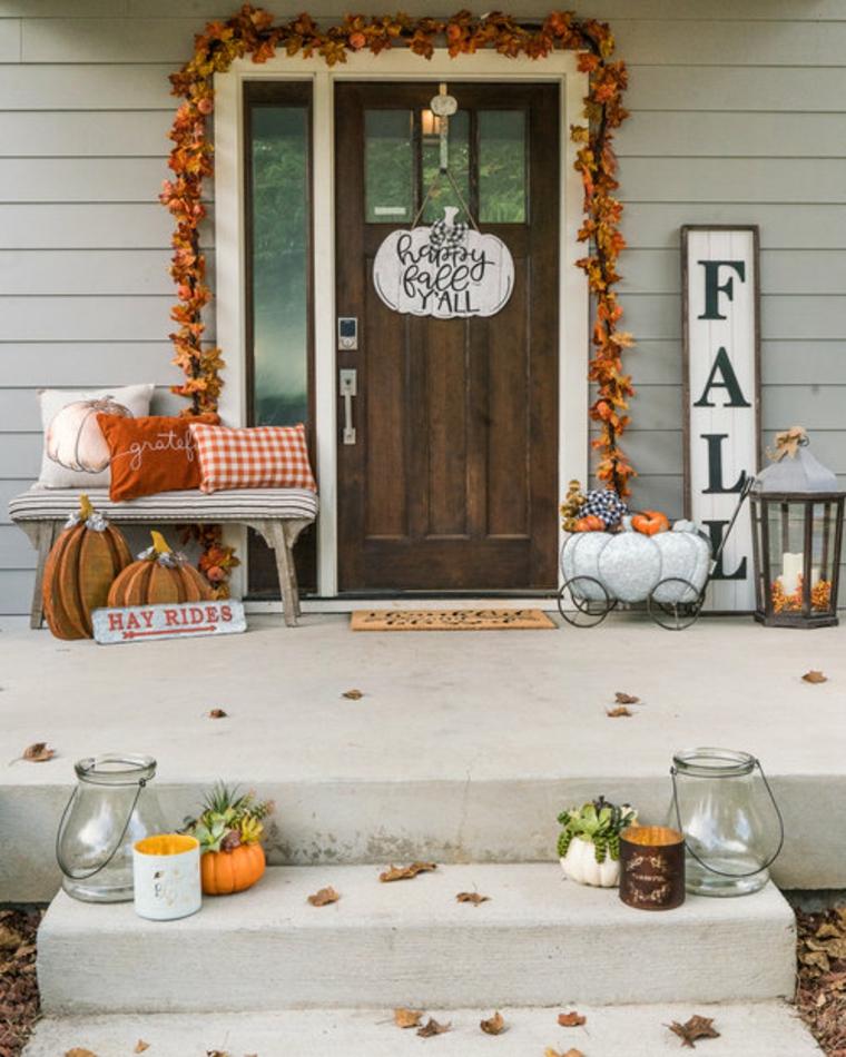 entrée du porche