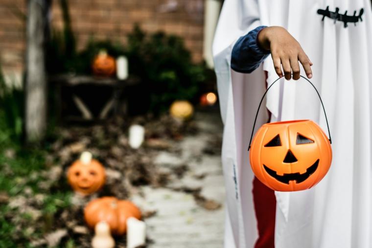 arrangements Halloween-décorer-citrouille