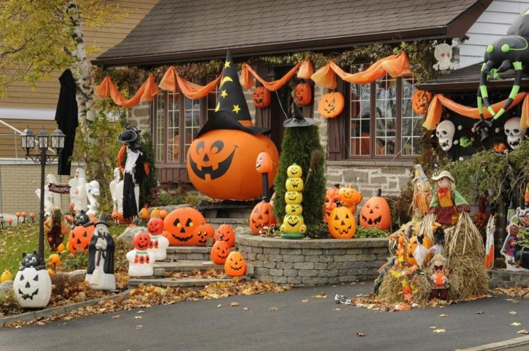 Halloween décorations-décorer-jardin