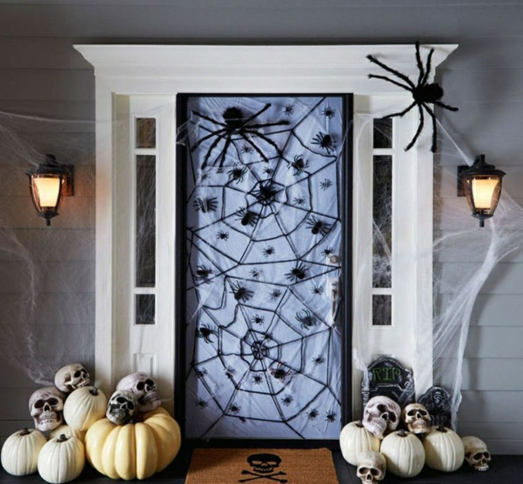 halloween-artisanat de porte de décoration