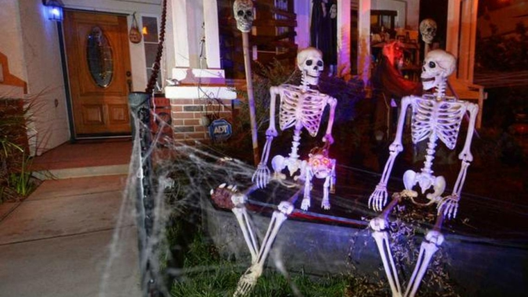 Halloween-décorer-figures extérieures