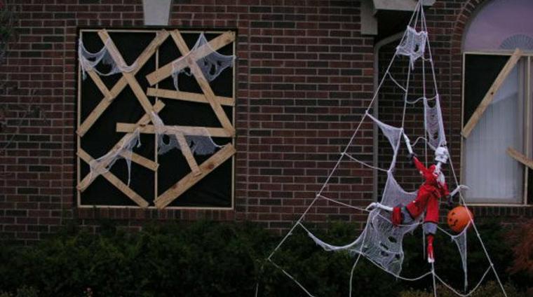 ornements de fenêtre halloween