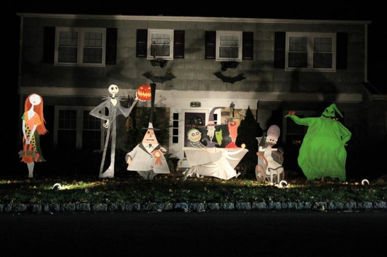 décoration pour halloween-extérieur