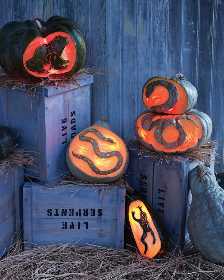 halloween-décorer-artisanat extérieur