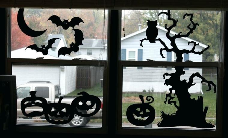 idées pour Halloween-décorer-vinetas