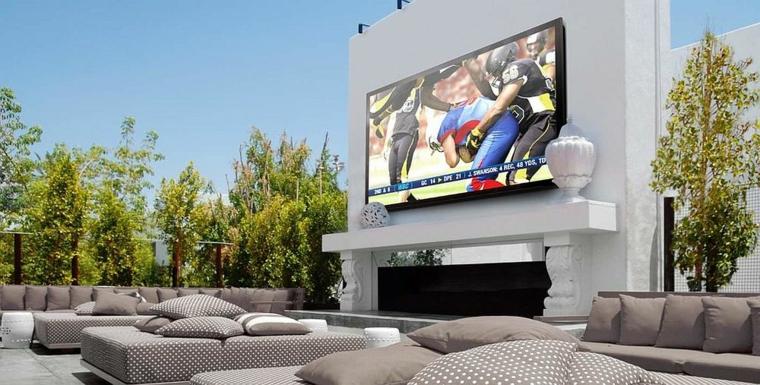 cinéma maison de luxe