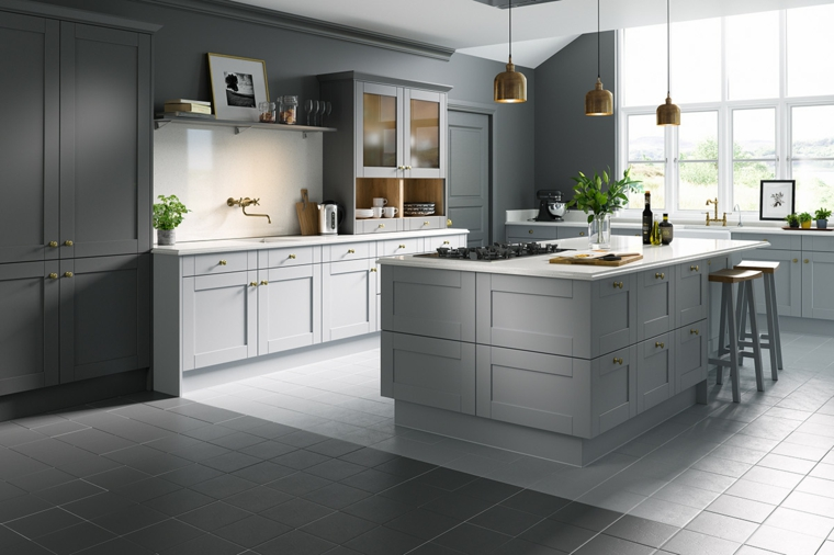 cuisine-large-beau-style-blanc-gris