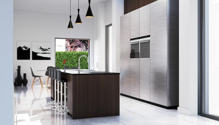 cuisine-moderne-style-simple-ilot-bois