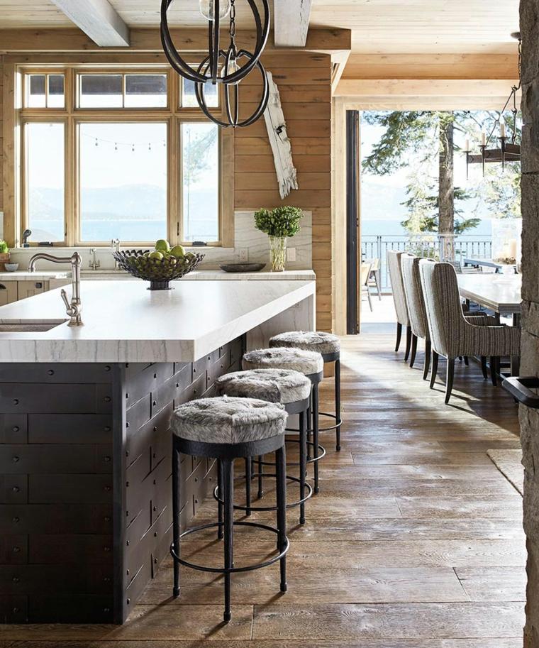 images de cuisines modernes-Catherine-Macfee-Interior-Design
