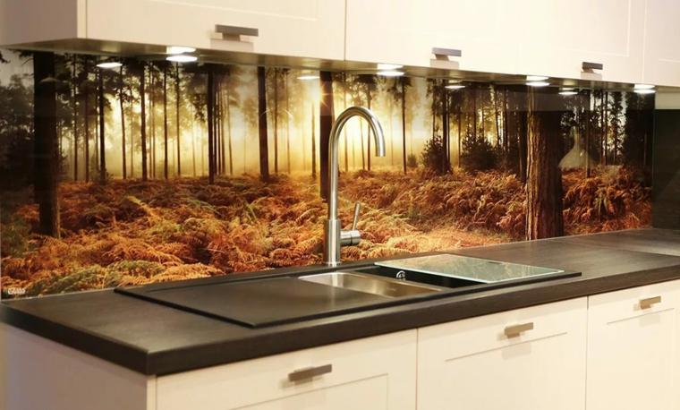 intérieurs de cuisine-dosserets-paysages