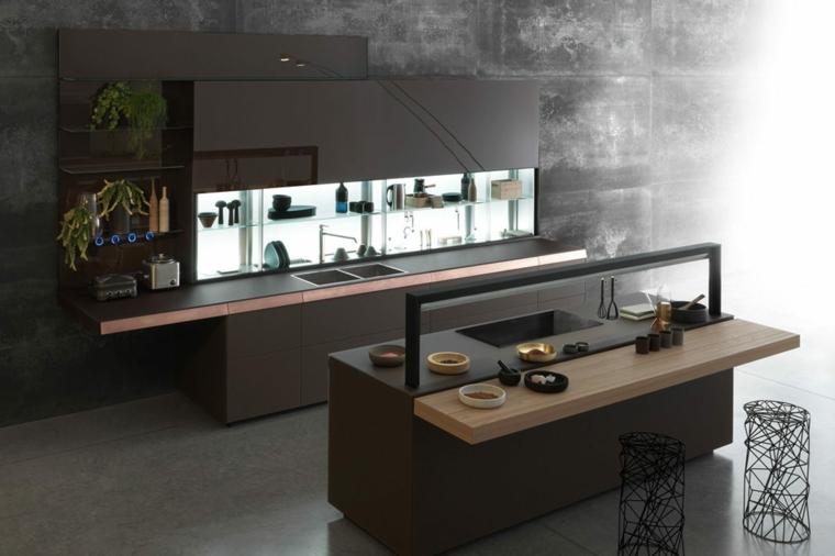 cuisine-tableau de bord-modèles modernes