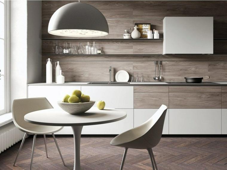 décoration pour cuisines-dosserets-bois