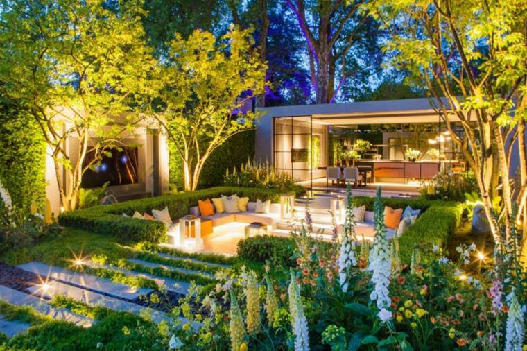 jardins urbains modernes