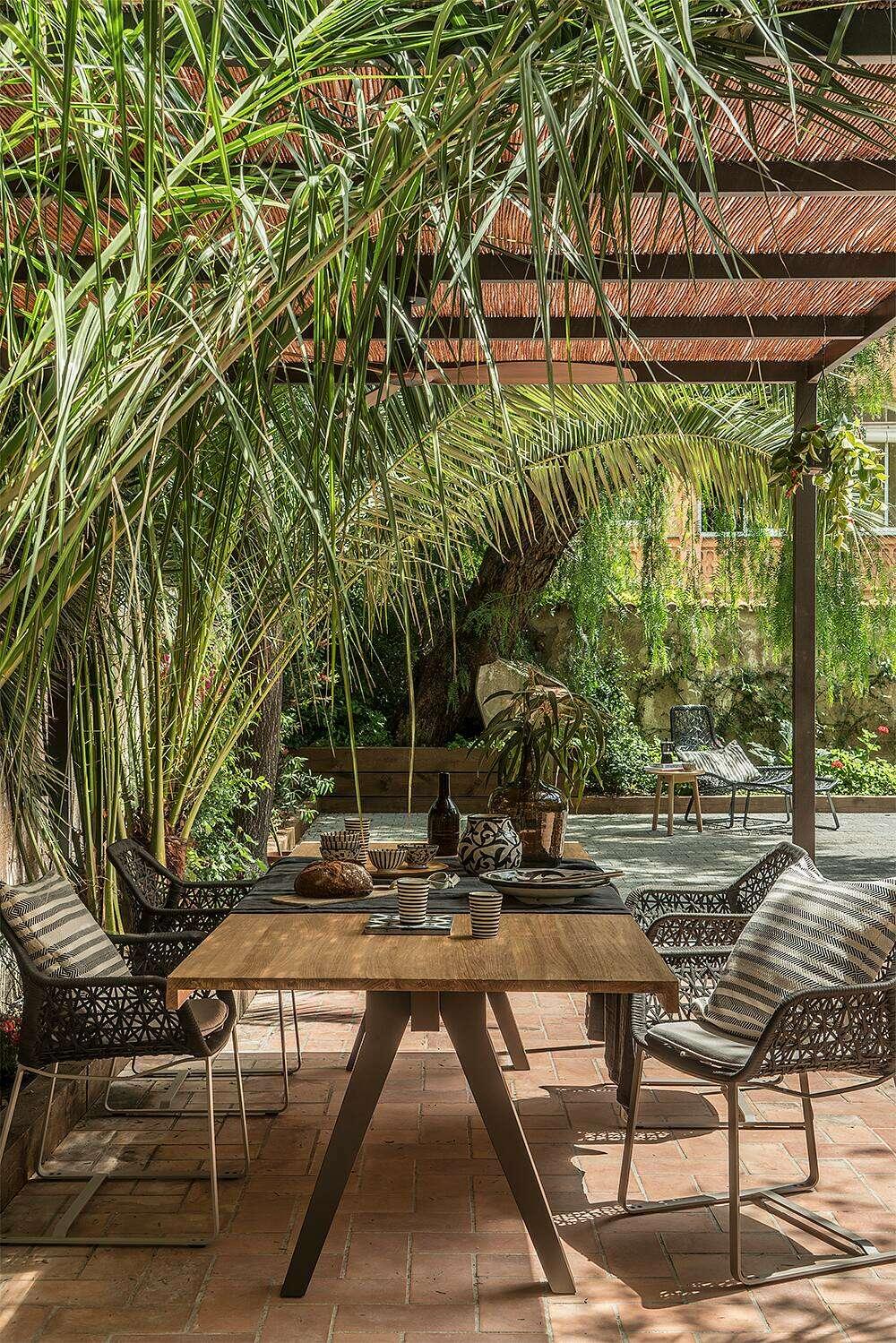 jardin conçu par studio
